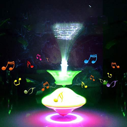 Trompos, Trompos con Luz LED y Música, Giroscopio Eléctrico de Giro, Giroscopio...