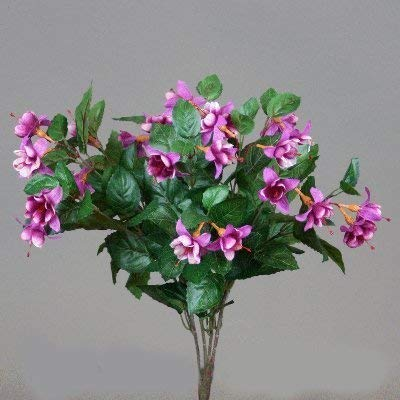 fuchsia lavendel-weiss, arbuste env. 50 cm en plastique
