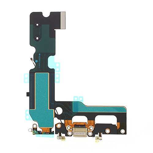 BEST SHOPPER - Charging Charge Port Flex Cable fits Compatible with iPhone 7 Plus 5.5 Inch - White