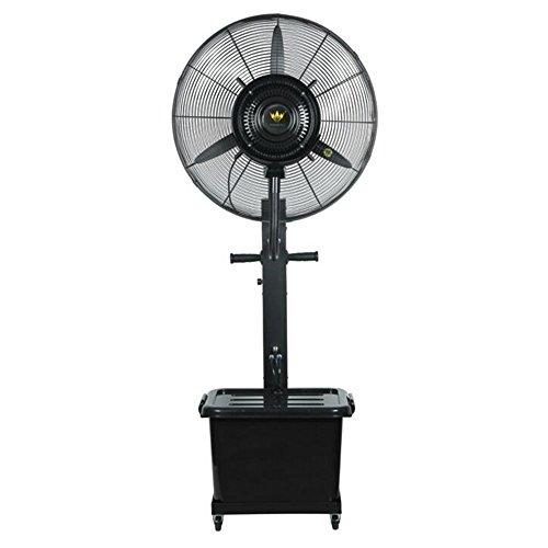 Byx- Ventilador de nebulización - Ventilador de nebulización oscilante de gran tamaño para exteriores Ventilador potente Ventilador industrial de pie Tamaño del ventilador - 26 pulgadas Área de enfria