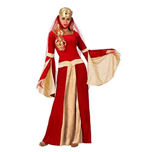 Atosa 15437 - Disfraz de medieval para mujer, talla XL