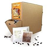 Fresh Ground Coffee Bags | Fairtrade | Single Origin | 100% Arabica | 100 Coffee Bags - Great for Office | B&B | Hotel | Hospital | Catering (Medium Roast - Guatemala, Central America)
