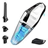 DN DENNOV Handheld Vacuum Cordless, 9000Pa Powerful Portable Vacuum with Detachable Battery, Lightweight