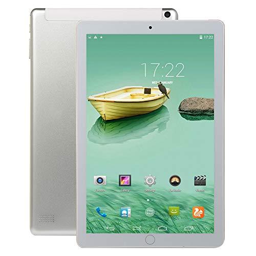 CRZ Tableta 3G WiFi, Procesador Quad-Core, Sistema Android, 2GB RAM + 32GB ROM, Dual SIM, Pantalla IPS HD de 10.1 Pulgadas, Bluetooth, GPS, Batería 4000mAh