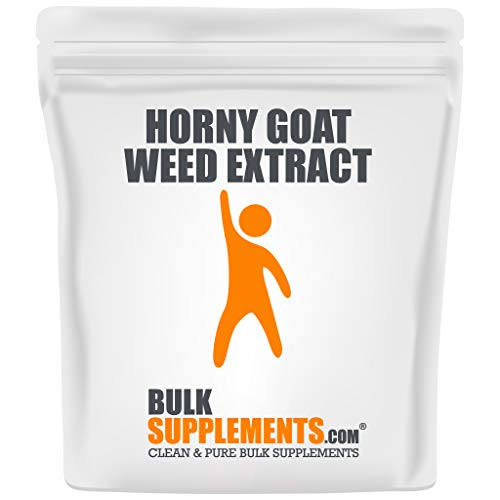 Bulksupplements.com Horny Goat Weed Powder - Women's Libido Support - Horny Goat Weed Extract - Horny Goat Weed for Men (100 Grams)