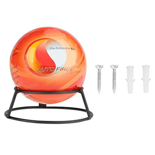 Automatisch harmloses Material Feuerlöscher Ball, Feuerlöscher Wurfball, Easy Throw Stop Feuerverlust Werkzeug(0.5kg)