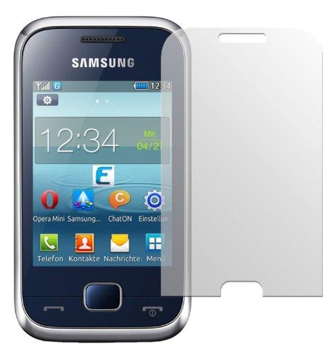 dipos I 2X Schutzfolie matt kompatibel mit Samsung Rex 60 Folie Displayschutzfolie
