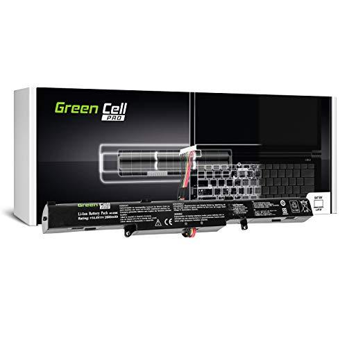 Green Cell Pro Serie A41-X550E Laptop Akku für ASUS X550D X550DP R510D R510DP F550D F550DP F750L F750LB X750J X750JB X750JN X750L X750LB X750LN (Original Samsung SDI Zellen, 4 Zellen, 2600mAh)