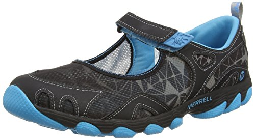Wolverine Europe B.V. / Merrell Merrell HURRICANE MJ J24552 Damen Aqua Schuhe, Black (Black/Horizon Blue), 36 EU