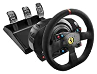 Thrustmaster T300 Ferrari Integral Racing Wheel Alcantara Edition ハンドルコントローラー 【日本正規代理店保証品】 4160660
