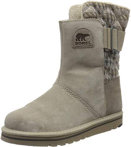 Sorel Damen-Stiefel, NEWBIE, Weiß (Silver Sage), Größe: 43