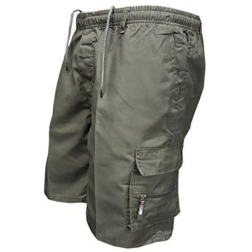 Männer Sommer Cargo-Shorts Casual Tasche Shorts Männer Jogger Gesamt Kurze Hosen Plus Größe Jogginghose-Color_6_Asian_Size_XXXL_China