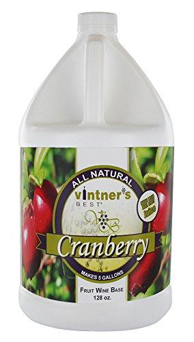 Home Brew Ohio  Vintners Best Fruit Wine Base, Cranberry 128oz