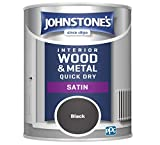 Johnstone's - Quick Dry Satin - Mid Sheen Finish - Water Based - Low Odour - Touch Dry in 1-2 hours -...