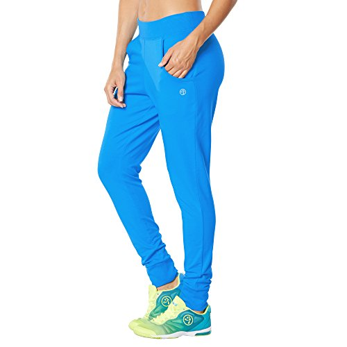 Zumba Fitness Damen WB Other Bootcamp Jogger Pants, Sea of Blue, XXL
