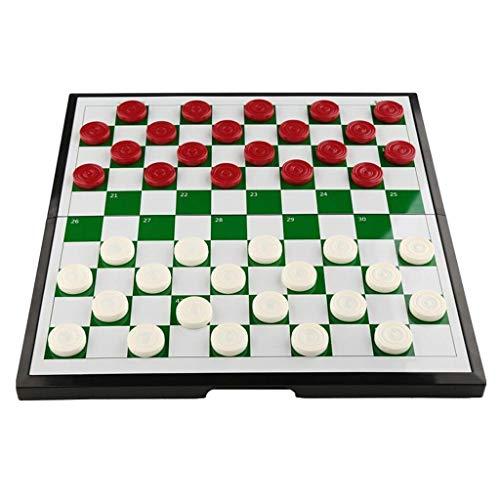 Schach Gehen Qualität Schach Kreative Kunststoffprüfer Schach Kinderschüler Puzzle 64/100 Gitter Magnetische Schachfiguren Falten Tragbare Schachbrett Schach Handgefertigt (Freizeitpuzzle Unterhaltun
