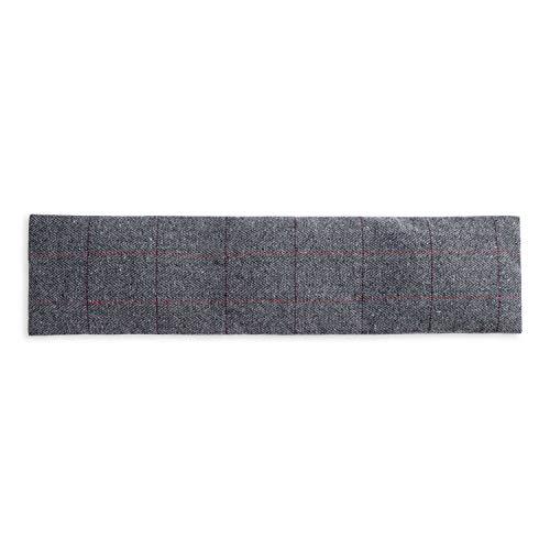 UMOI Coussin de lavande & blé pour détente et bien-être à réchauffer au four ou au micro-ondes - 700 GR lavande & blé 42cm x 12cm (Oxford)
