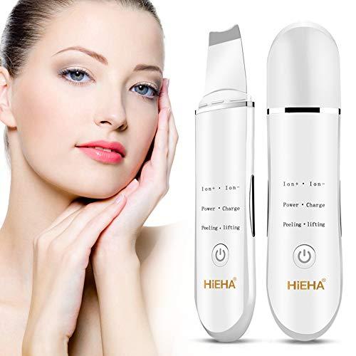 Hieha Skin Scrubber Ultraschallpeelinggerät Mitesser Akne Entferner Hautreiniger elektrischer Gesicht Porenreiniger Gesichtsreinigung