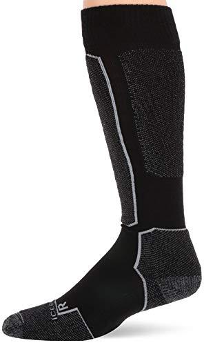 Icebreaker Merino Chaussettes de ski légères en laine pour homme XL Noir