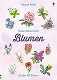Sticker-Wissen Natur: Blumen: mit über 100 Stickern