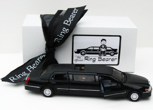 Ring Bearer's Gift Boxed Stretch Limousine by Kid Friendly Weddings