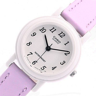 カシオCASIOQUARTZクオーツレディース腕時計LQ-139L-6Bパープル[並行輸入品]