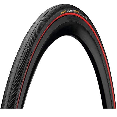 Continental Ultra Sport 3 80 Tpi Puregrip Compound Foldable 700 x 23C Neumáticos para Bicicleta, Adu