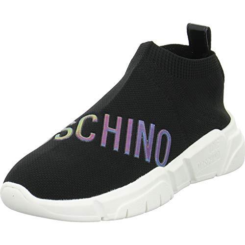 Love Moschino Love Sock Knit Femme Baskets Mode Noir