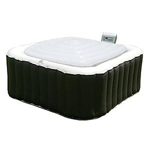 immagine di MSPA Hot Tub Jacuzzi Heat Preserver & Rain Outflo - Copertura gonfiabile della Vescica Square, Adatto a tutti gli Mspa 6 People Square Spa Alpine / Tekapo / Soho / Bliss / Lite
