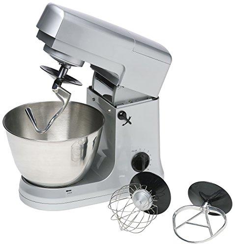 Bestron DHA3470 Küchenmaschine, Edelstahl