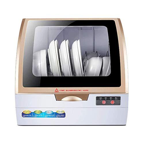 DJDLLZY Tabla para lavavajillas de Mesa Inteligente lavavajillas automático para lavavajillas portátil 360 ° Estéreo Spray Limpieza Lavavajillas