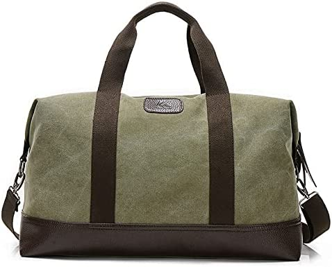 Max 82% OFF Classic Ranking TOP8 Weekender Overnight Duffel Bag Canvas on Carry T Leather