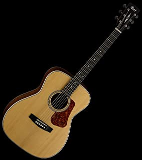 NEW QUALITY CORT LUCE SERIES L100C-NS ACOUSTIC GUITAR