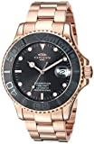 Oniss Paris Women's Japanese-Automatic Sport Watch with Stainless-Steel Strap, Rose Gold, 11 (Model: ON7772-MRGBK)