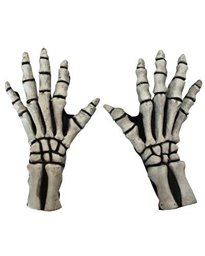 Horror-Shop Gants Squelette Blanc
