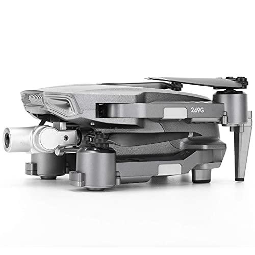 JJDSN Dron con GPS Plegable L106 Pro, Mini Dron con GPS Ultraligero con cámara 4K UHD, Dron con Control Remoto de 2.4G, cuadricóptero estabilizador de 2 Ejes para entusiastas de la fotografía aére