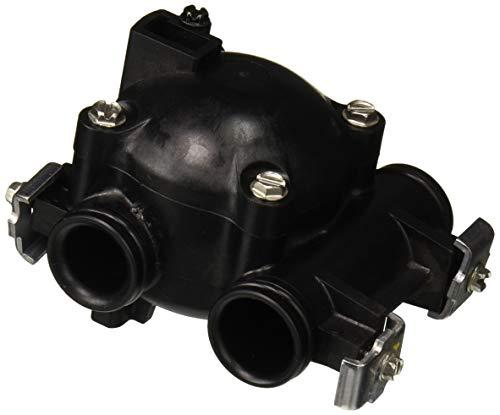 Fleck FP-60086-50 Water Paddlewheel Flow Meter Assembly Digital Softener Valves (Part 60086-50), Black