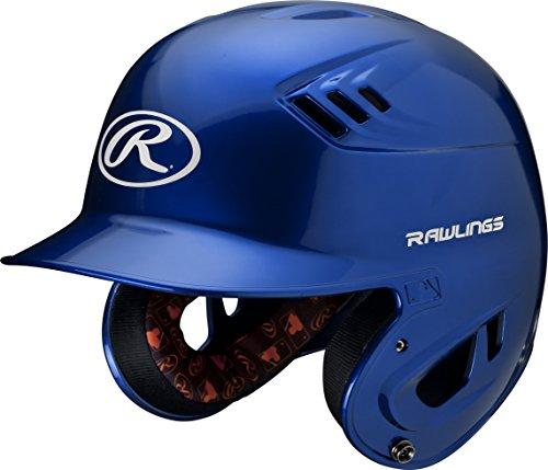 Rawlings R16 Series Metallic Batting Helmet, Royal, Junior