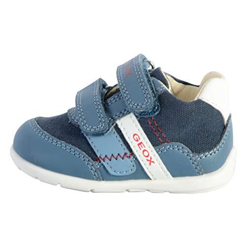 Geox Elthan - Zapatillas deportivas para niño, (Air Marine), 25 EU