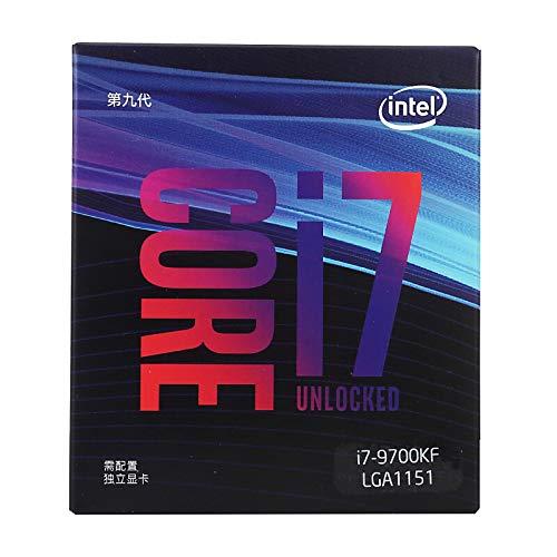 unità di elaborazione centrale desktop CPU lizeyu, i7-9700KF a otto core, processore CPU in scatola