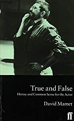 David Mamet's book True and False