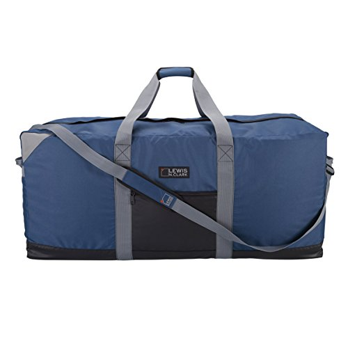 "Lewis N. Clark Unisex's 40"" Heavy-Duty Duffel with Neoprene Gear Bag, Blue, One Size"
