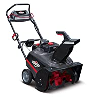 The Briggs & Stratton 250cc 1696741 single-stage snow blower: photo
