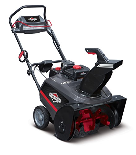 Briggs & Stratton 1222EE 22-Inch Single-Stage Snow Blower with SnowShredder Auger and Push Button Electric Start