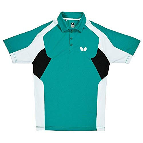 Best Buy! Butterfly Shiro Table Tennis Shirt – Comfortable Stretch, Moisture Wicking Polo