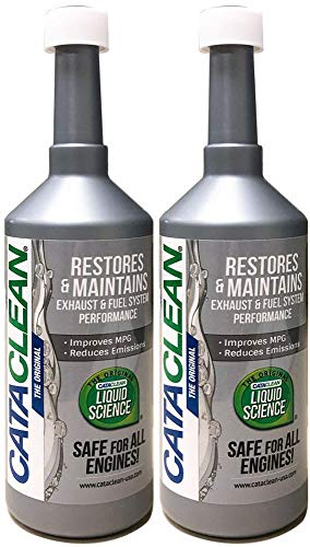 Cataclean (120007-2PK) Fuel and Exhaust System Cleaner - 16 fl. oz., (Pack of 2)