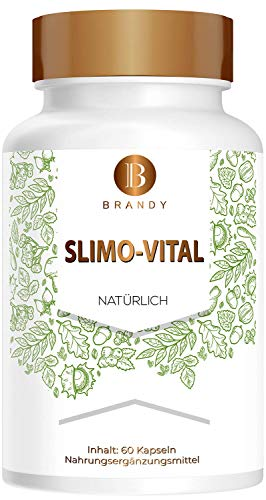 Brandy - Slimo-Vital - DAY AND NIGHT - Stoffwechsel, Natürlich - 60 Kapseln - Monatspackung