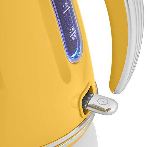 Swan Retro 1.5 Litre Jug Kettle 3KW - Yellow