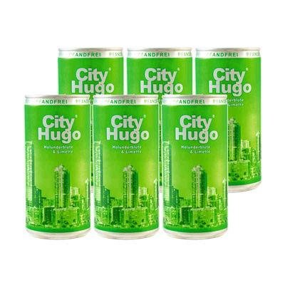 6x200ml City Hugo