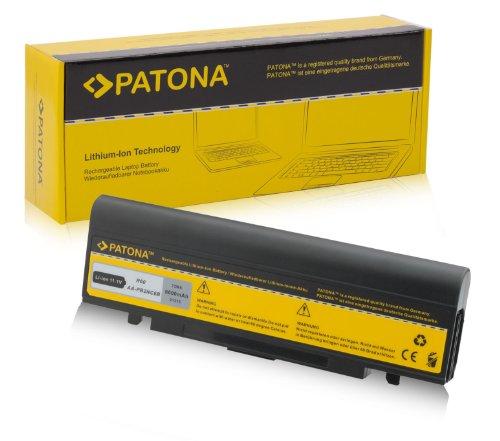 PATONA Batería para Laptop / Notebook Samsung Aura M60-T5450 | T7500 | NP-P50 | NP-P60 | NP-R40 | NP-R45 | NP-R65 | NP-R70 | NP-X60 | NP-R40 Plus | P50 | P60 | P210 | P460 | P560 | Q70 | Q210 | Q310 | R39 | R40 | R41 | R45 | R60 | R65 | R70 | R410 | R505 | R509 | R510 | R560 | R610 | R700 | R710 | X60 | X65 | X360 | X460 y mucho más... - [ Li-ion; 6600mAh; negro ]
